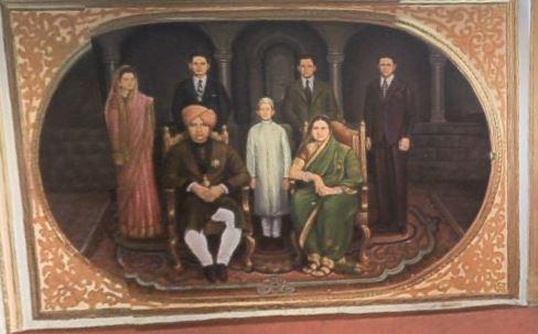 Family Portrait at the Rajwada