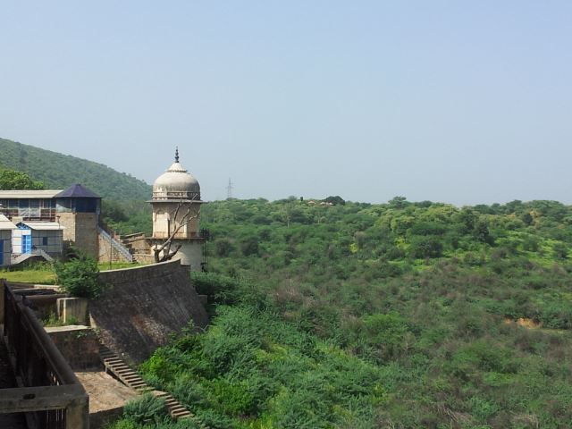 A view of the Ramgarh Dam