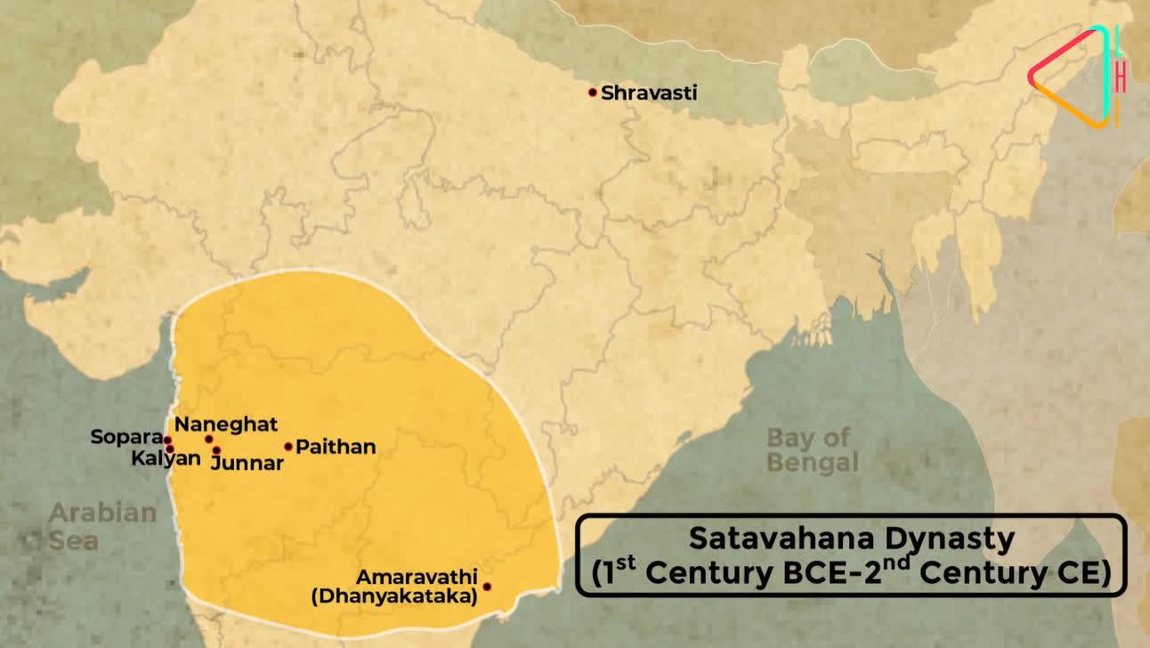 Extent of the Satavahana Empire | LHI