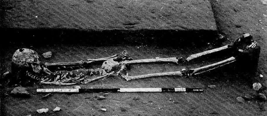 Extended Burial at Bagor - After V N Misra 1973