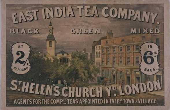Poster advertising the East India Tea Company, c.1870. | V&A Museum