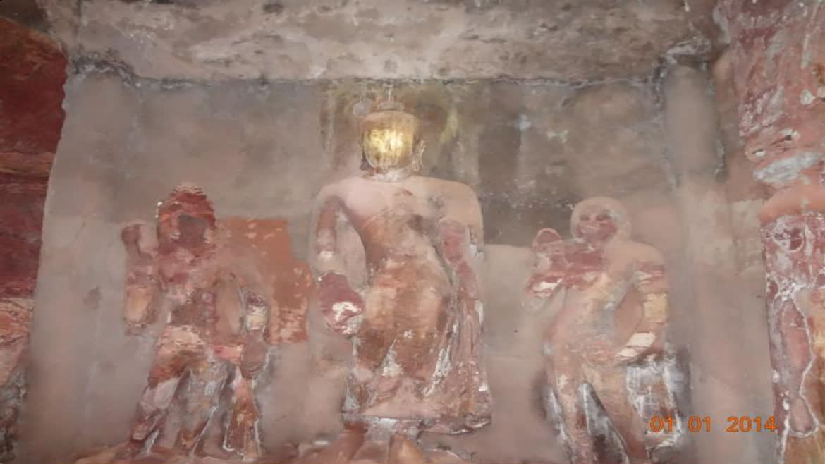 Statues in one the caves | Dhirengeol