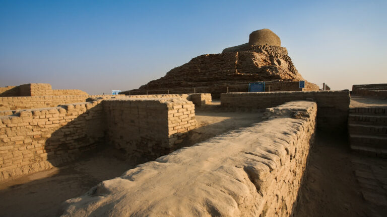 What was found at Mohenjo-daro?