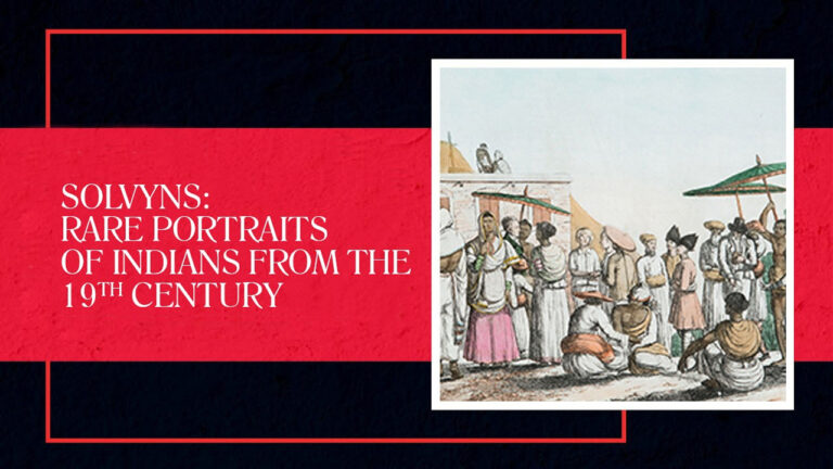 Giles Tillotson on Francois Balthazard Solvyns' Paintings of Indians from the 19th Century