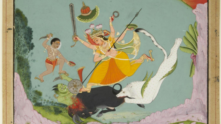 From Fierce to Fantastic: The forms of Devi in Indian Painting