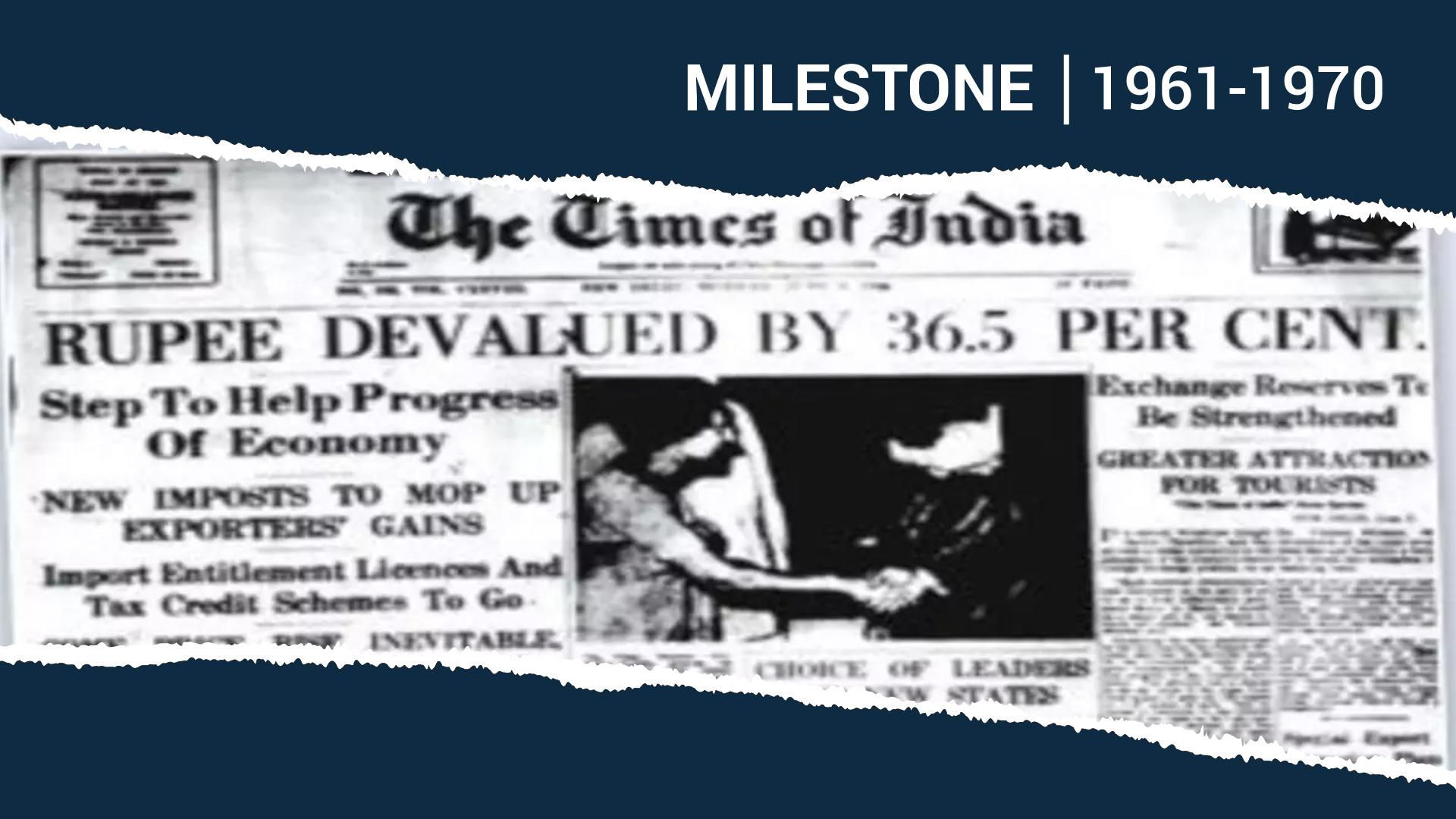 When Indira Gandhi Devalued the Rupee