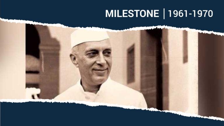 Pandit Jawaharlal Nehru's Passing: End of an Era