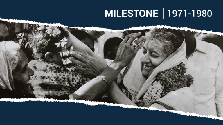 1970s: The Decade of Indira Gandhi