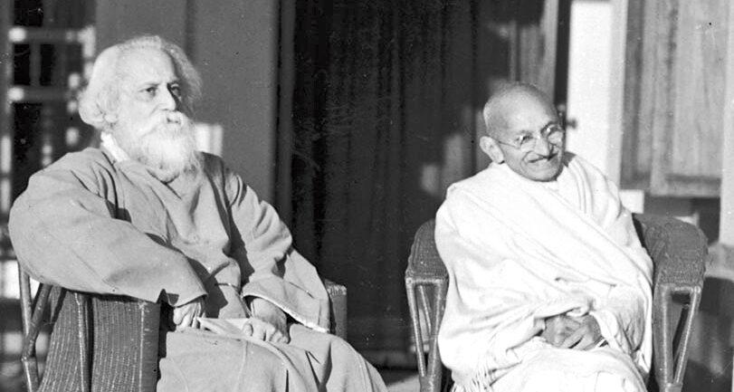 Gandhi and Tagore  : The Great Debate