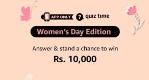 Amazon-Women's-Day-Edition-Quiz-Answers
