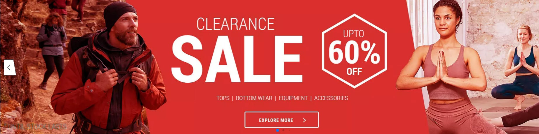Decathlon Clearance Sale Offers