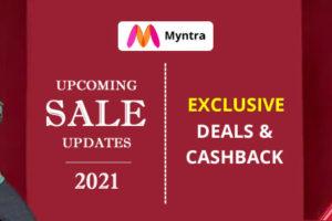 Myntra Upcoming Sale