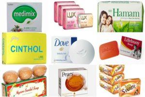 soap brands in India