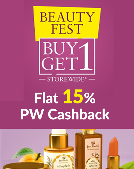 JUST HERBS BEAUTY FEST | Buy 01 Get 01 FREE on Sitewide