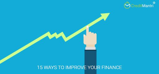 15 Ways to Improve your Finances