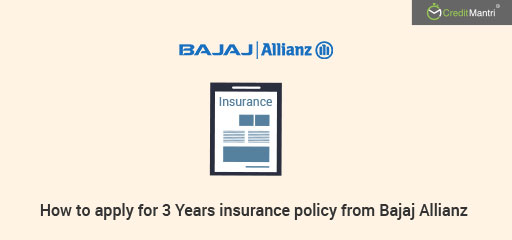 How To Apply for 3-Years Long Term Two Wheeler Insurance Policy from Bajaj Allianz