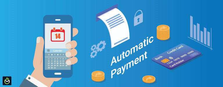 Automatic Payment for Credit Card Bills