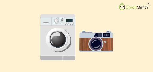 Buy Digital Camera & Refrigerator on EMI at Bajaj Finserv