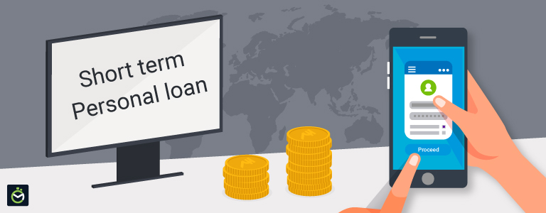 How can I apply for a short-term loan in India?