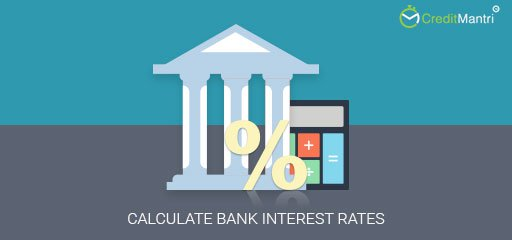 How do I calculate the bank interest rate?
