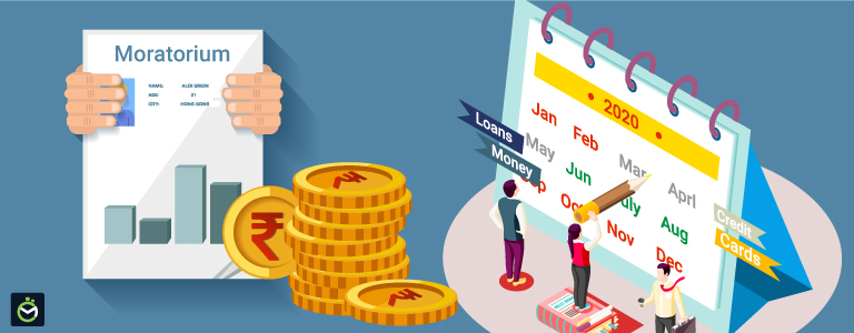 How does opting for the six-month moratorium affect your finances?