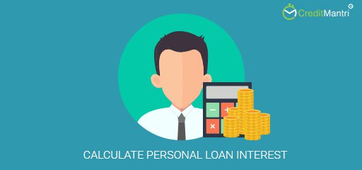 How to calculate Personal loan interest