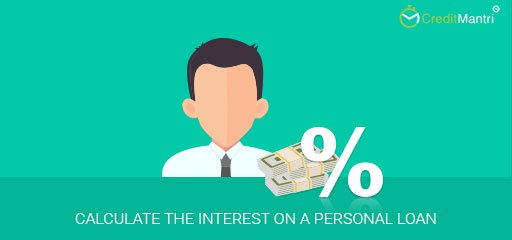 How to calculate the interest on a personal loan?