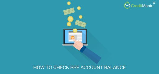 How to check PPF account balance