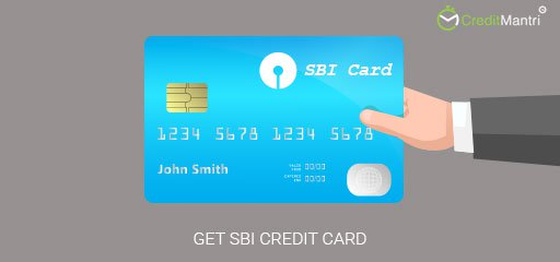 How to get an SBI Credit Card
