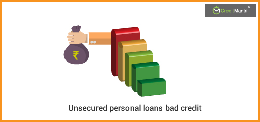 How to Get an Unsecured Personal Loan with Bad Credit?