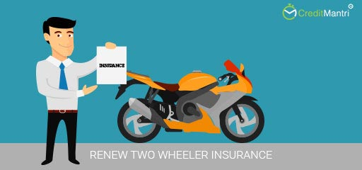 How to renew two wheeler insurance?