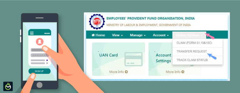 How to transfer your EPF account from a previous employer to your current employer?