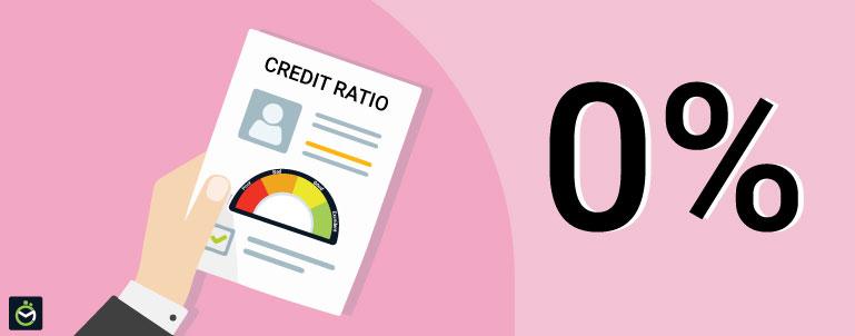 Is 0% A Good Credit Utilization Ratio?