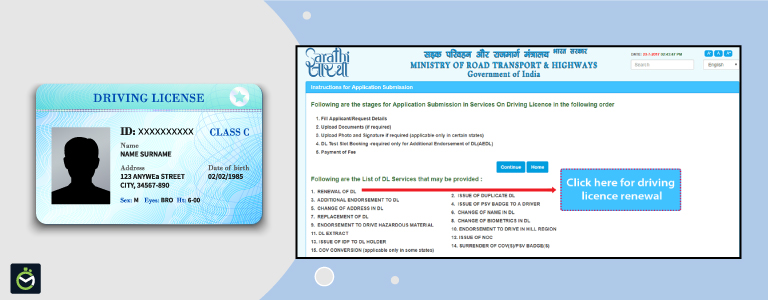 Step-by-Step Guide to Renew a Driving License in India
