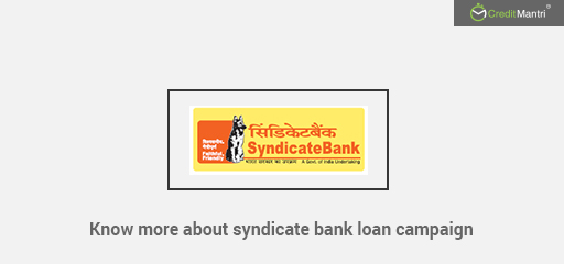 Syndicate Bank Loan for All Your Financial Needs