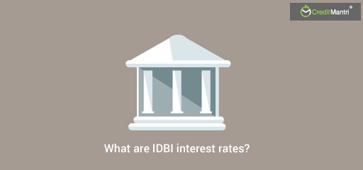 What are IDBI interest rates?