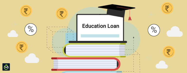 What happens if I don't repay my education loan EMIs on-time?