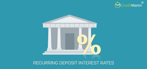 What is a recurring deposit and what is the interest rate on these deposits?