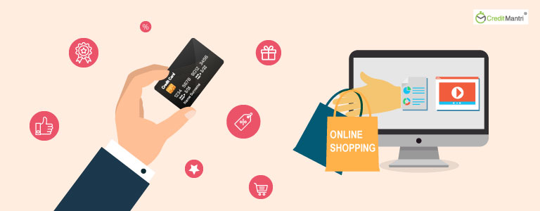 Why is it better to use a credit card while shopping online?
