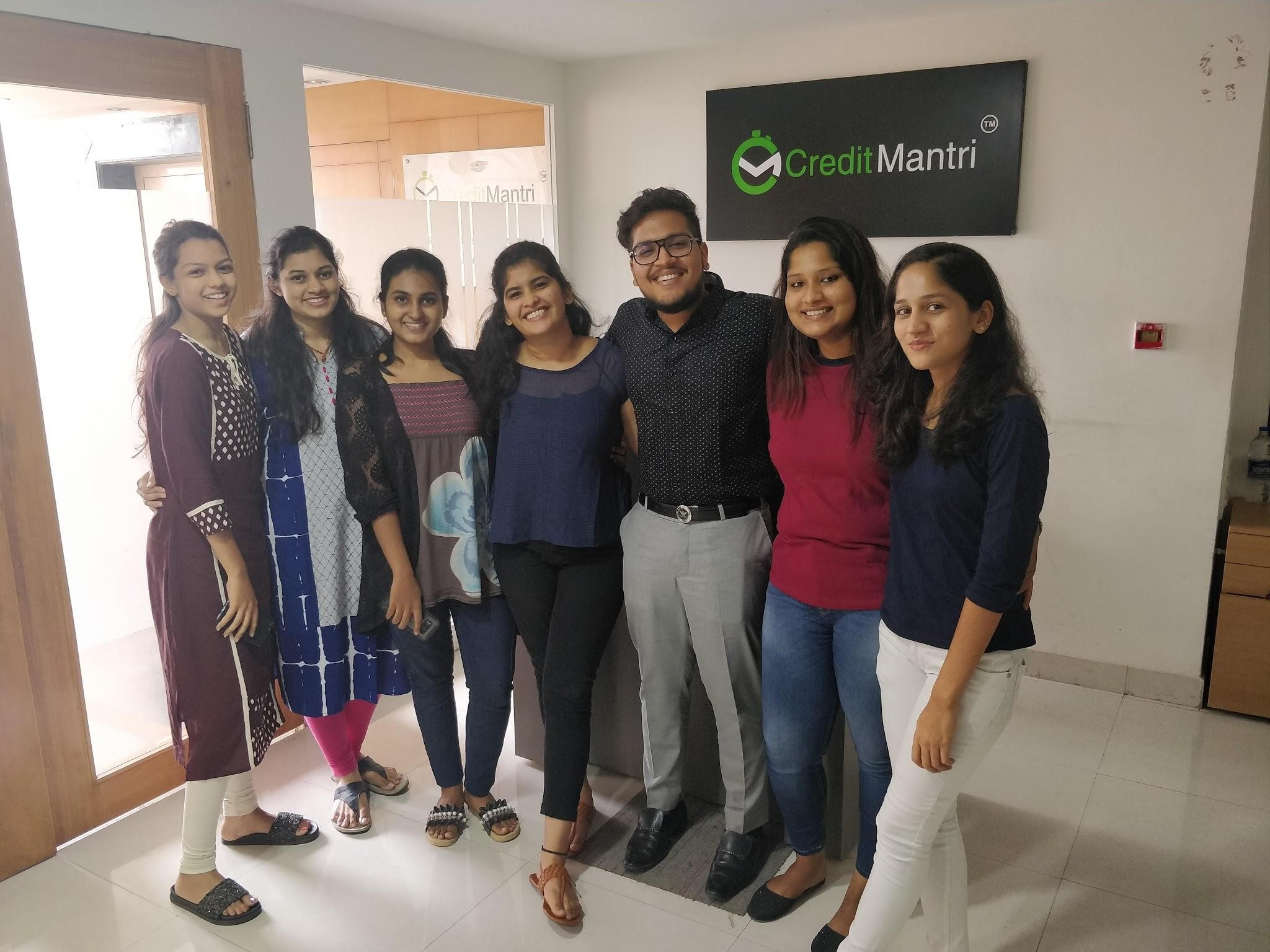 Internship Experience at CreditMantri