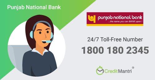 Punjab National Bank Credit Card Customer Care Number