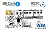 IRCTC SBI Platinum Credit Card