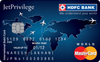 Jetprivilege HDFC Bank World Credit Card