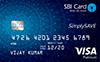SimplySAVE SBI Credit Card