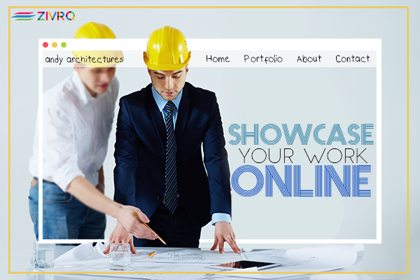 Pull in a bright future by showcasing your past projects Online!
