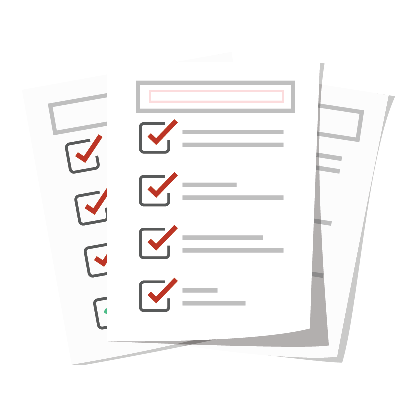 Three pages of articles/checklists