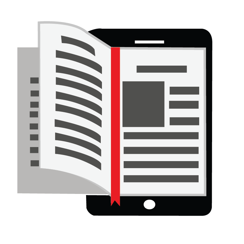 Ebook pages flipping out of a ebook reader
