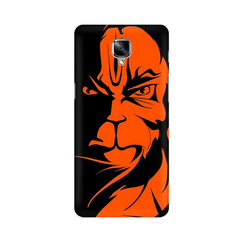 Angry Hanuman One Plus 3T Mobile Cover Case