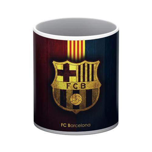 FC Barcelona White Mug