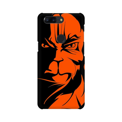 Angry Hanuman One Plus 5T Mobile Cover Case